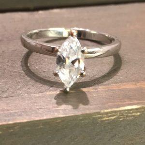 Nevada Marquis Diamond Ring Size 8